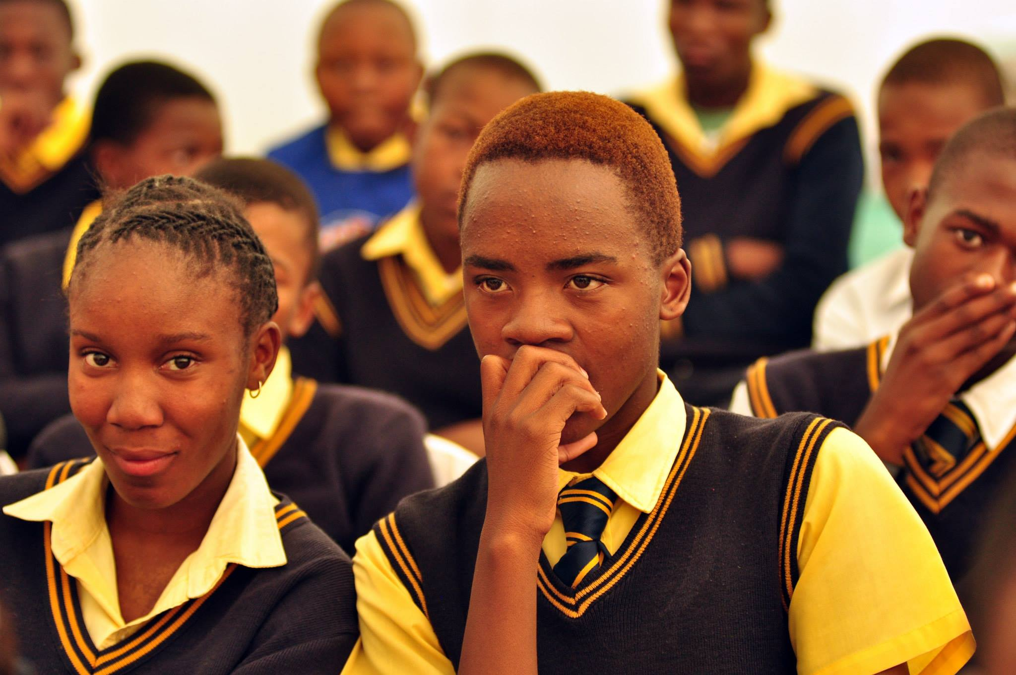 Kagiso Shanduka Trust (KST), South African high school pupils, students